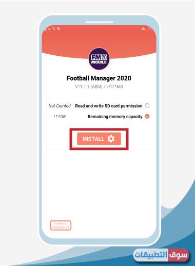 لعبة foorball manager 2020