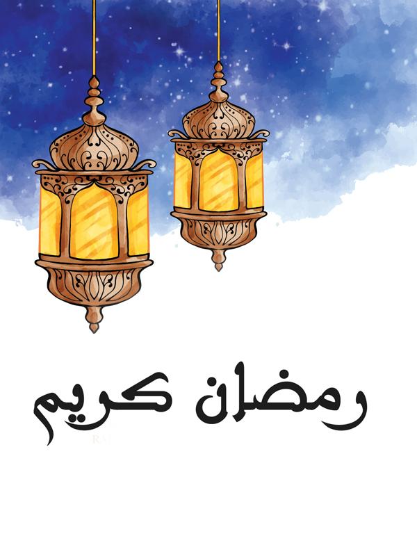 صور فانوس رمضان 2020 مع اسمك