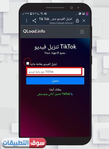 موقع تحميل فيديو تيك توك بدون حقوق