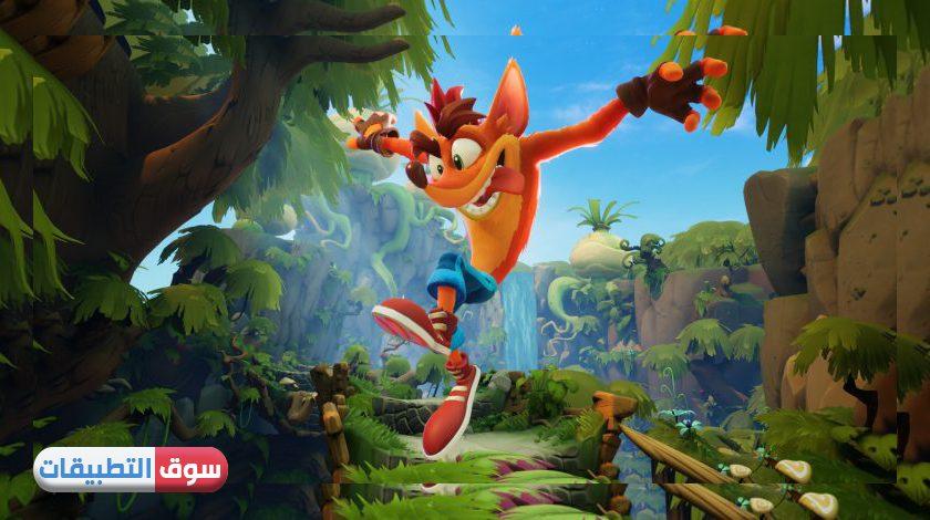تحميل Crash Bandicoot للايفون الجديدة