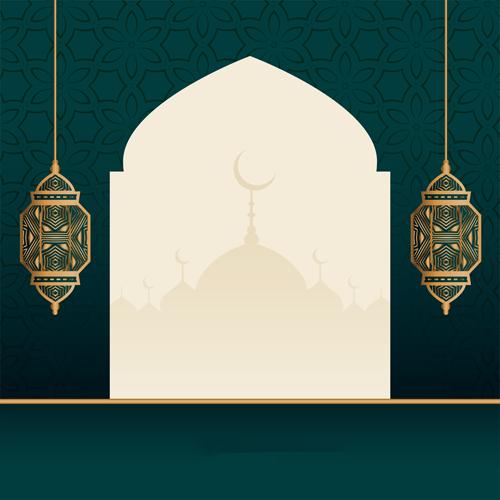 فوانيس رمضان مع دعاء رمضاني