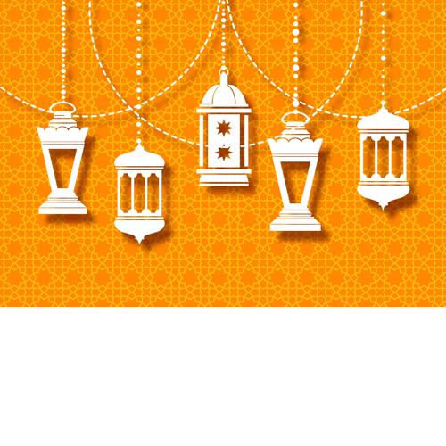 بطاقات فوانيس رمضان للتهنئة 2021