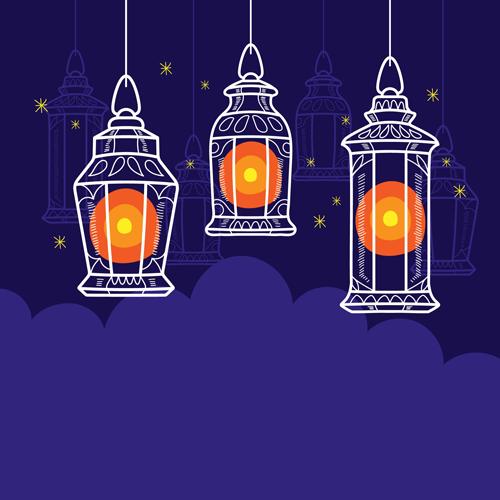 فانوس رمضان كرتون