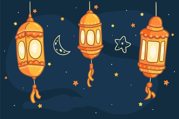 فوانيس زينة رمضان 2021