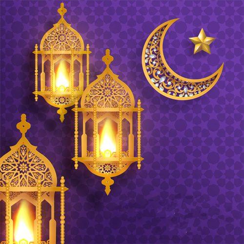 فانوس رمضان خشب