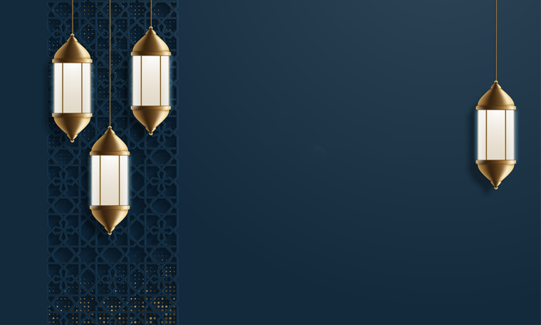 فوانيس رمضان للكتابة
