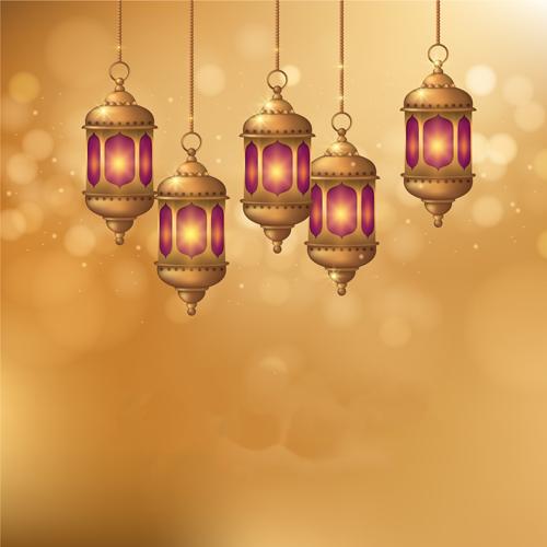فانوس رمضان رسم