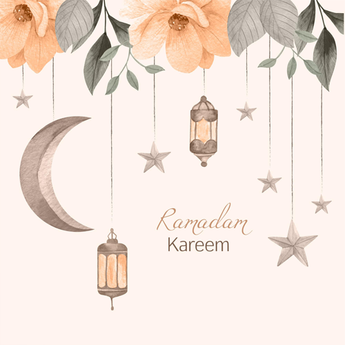 ثيمات هلال رمضان