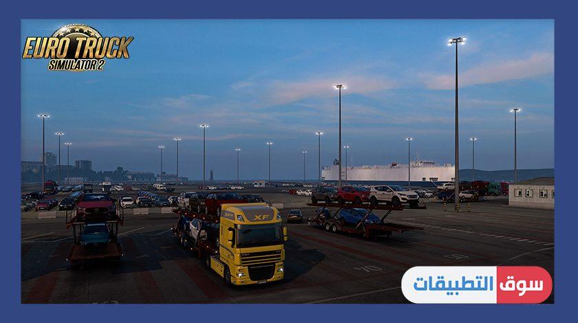اسطول الشاحنات في لعبة محاكي الشاحنات الاوروبية 2021 مجاناً