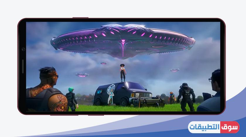 السفينة الفضائية العملاقة في لعبة فورت نايت اخر اصدار