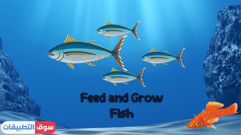 تحميل لعبة Feed and Grow Fish للكمبيوتر مجانا برابط مباشر 2021